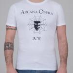 "T-Shirt ""Arcana Opera"" bianca unisex"