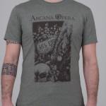 "T-Shirt ""Scarabeo"" grigio unisex"