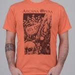 "T-Shirt ""Scarabeo"" arancio unisex"