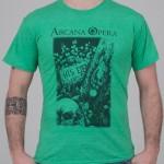 """T-Shirt """"Scarabeo"""" verde chiaro unisex"""