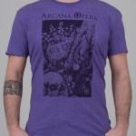 "T-Shirt ""Scarabeo"" viola unisex"