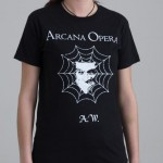 "T-Shirt ""Arcana Opera"" nera donna"